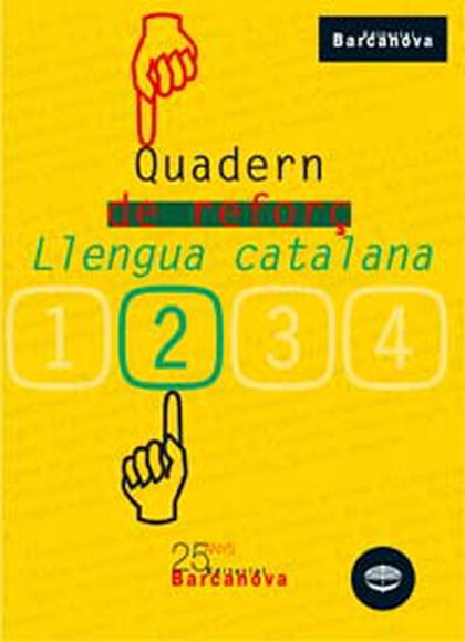 LLENGUA I LITERATURA QUADERN REFORÇ 2n ESO Barcanova Quaderns 9788448917159