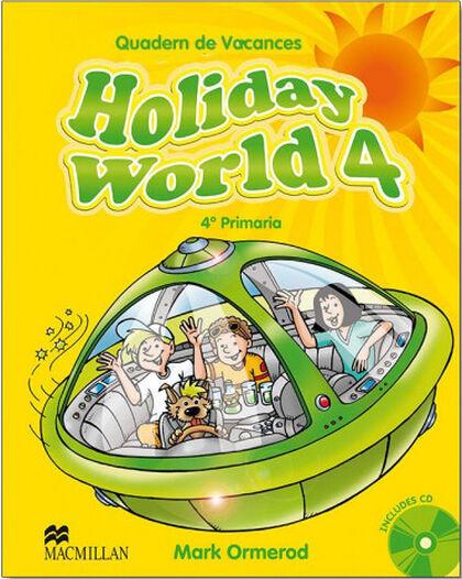 HOLIDAY WORLD 4t PRIMÀRIA Macmillan 9780230422728
