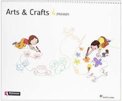 ARTS & CRAFTS 4º PRIMARIA Santillana Text 9788468013510