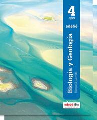 Biología y geología/16 ESO 4 Edebé 9788468318257