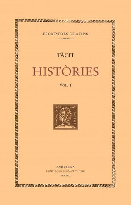Històries, vol. I: llibre I