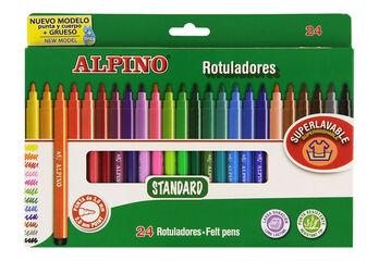 ROTULADORES ALPINO 24COL