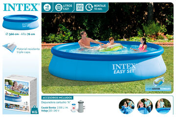 Piscina Easy set despuradora 3660x760mm
