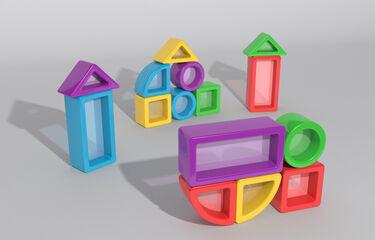 Juego de construcción Game Movil Color visión 15 piezas