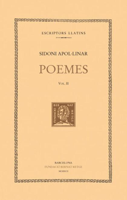 Poemes, vol. II i últim: Poemes menors