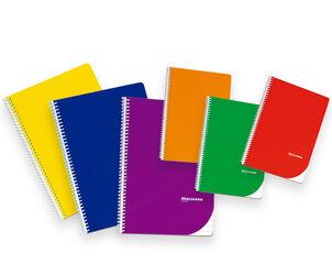 Libreta espiral Abacus A5 Milimetrado 50 hojas Surtido de Colores