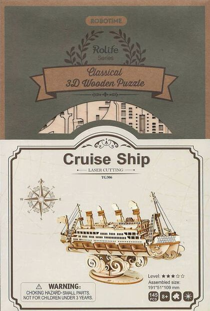 Maqueta Rolife Cruise Ship