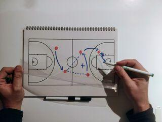 Pizarra Blanca UNDO NOTEBOOK A4 Go Draw Basquet