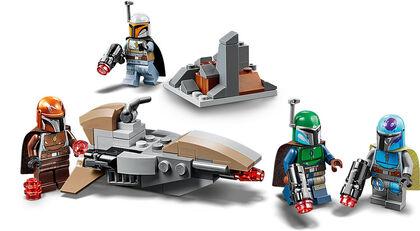 LEGO Star Wars Mandalorian  Pack de Combate: Mandalorianos (75267)