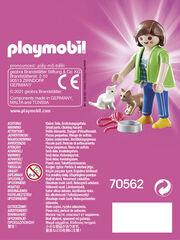 Playmobil City Mujer con gatitos (70562)