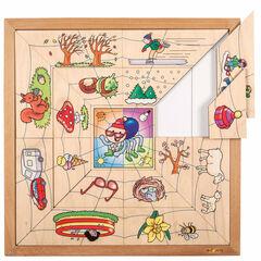 Puzzle Educo Estaciones