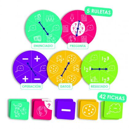 Juego didáctico Akros Inventar y resolver problemas matemáticos