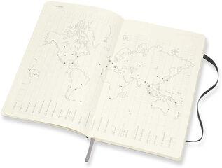 Agenda Moleskine 2020 - 2021 18 meses Cuaderno Semana Vistal L Semana Inglés Negro (13x21 cm)
