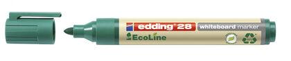 Rotulador Pizarra Edding Ecoline 28 10 u. Verde