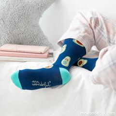 Calcetines Mr. Wonderful Aguacate - Talla única