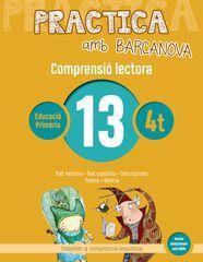 PRACTICA AMB BARCANOVA 13. COMPRENSIÓ LECTORA Barcanova Quaderns 9788448948566