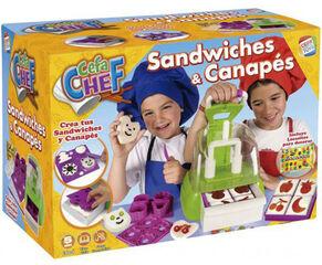 Juego simbólico Cefa Cefachef: sandwiches y canapés
