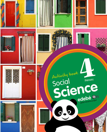 SOCIAL SCIENCE ACTIVITY BOOK 4º PRIMARIA Edebé 9788468323848
