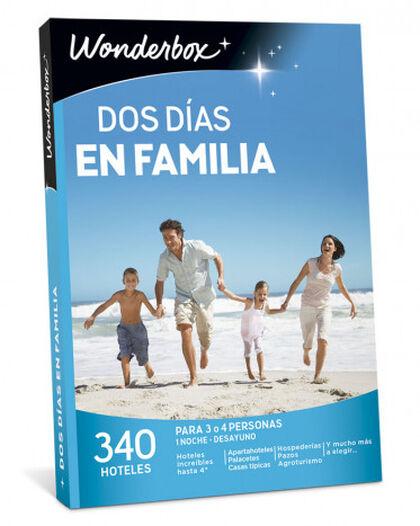 Pack de experiencia Wonderbox Dos dias en familia 2017-2018