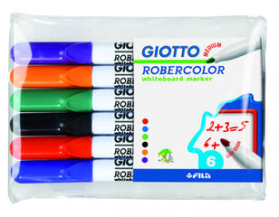 Retolador Pissarra Medium Giotto - 6 colors