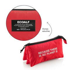 Estuche triple Miquelrius Ecoalf Reciclado Rojo