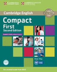CUP Compact First 2E/SB+CDR Cambridge 9781107428423