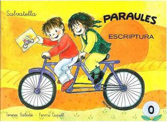 PARAULES ESCRIPTURA 0 Salvatella 9788484124016