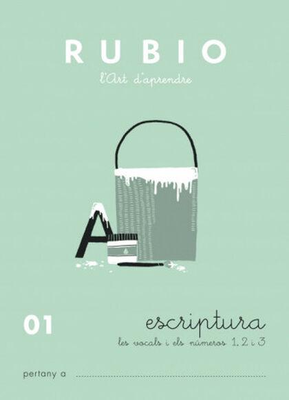 ESCRIPTURA 01 INFANTIL Rubio 9788489773417