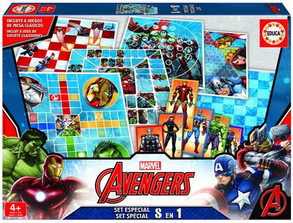 Set de juego Marvel Avengers Especial 8 en 1