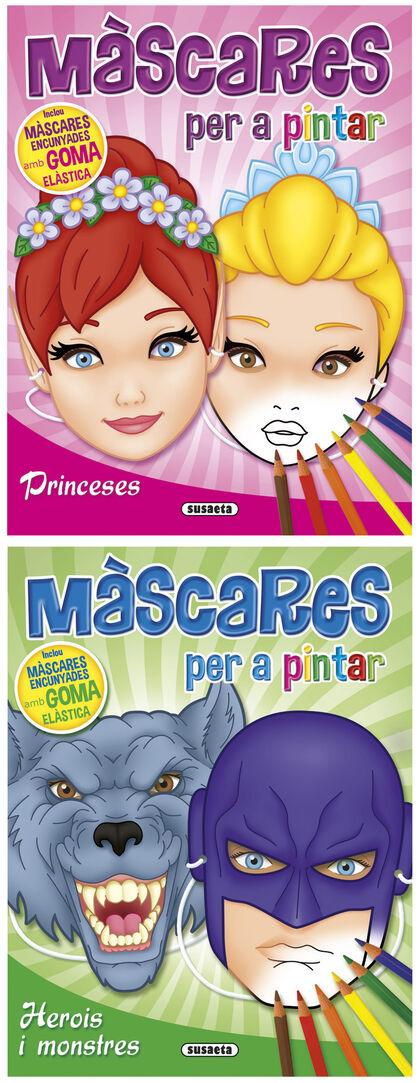 Màscares per a pintar (conté 4 exemplars