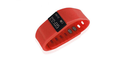 PULSERA FITNESS BLUETOOTH ROJO