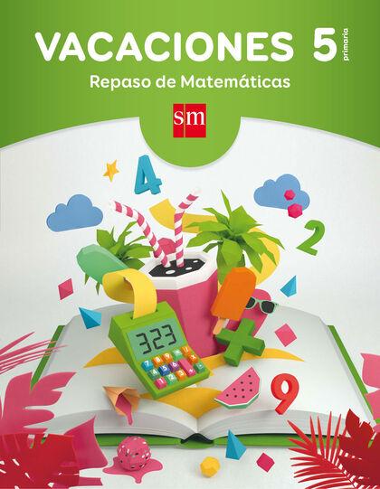 VACACIONES 5 PROBLEMAS SM 9788467593327