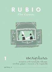 ESCRIPTURA 01 PRIMÀRIA Rubio 9788489773516