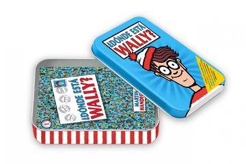¿Dónde está Wally? en una caja de metal