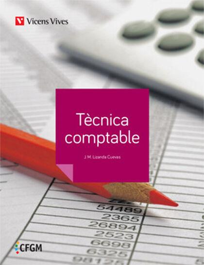 TÈCNICA COMPTABLE CICLES FORMATIUS Vicens Vives 9788468244976