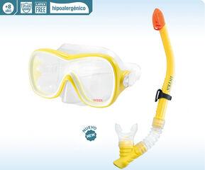 Màscara de busseig + tub Intex  Wave Rider