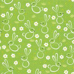 Tovallons Creative Pasqua Conillets
