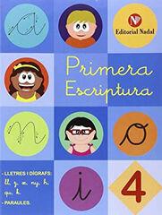 PRIMERA ESCRIPTURA-LLIGADA 4 Nadal 9788478876594