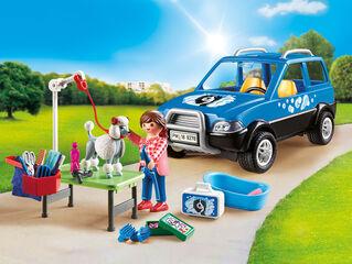 Playmobil City Life Mascotes cotxe renta gossos