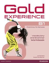 GOLD EXPERIENCE B1 GRAMMAR&VOCABULARY Pearson 9781447913931