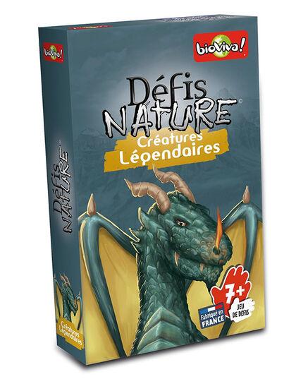 Juego de cartas Bioviva Desafíos Naturaleza Criaturesllegendaries