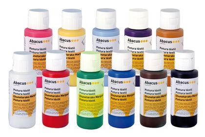 Pintura téxtil Abacus 60 ml Naranja