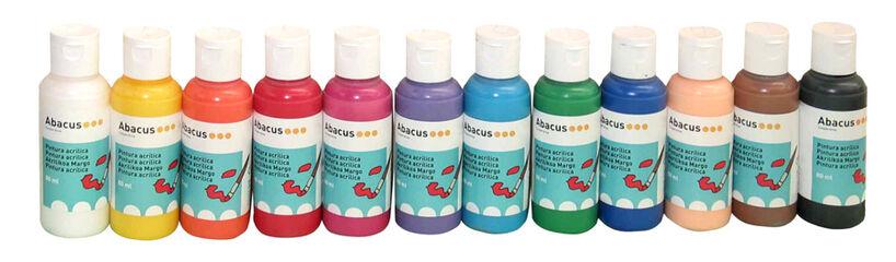Pintura acrílica Abacus 80 ml Rosa