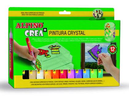 ALPINO CREA PINTURA CRISTAL