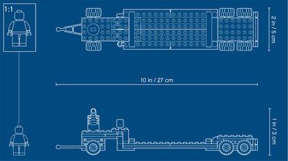 LEGO City Camión de transporte (60.183 mil)