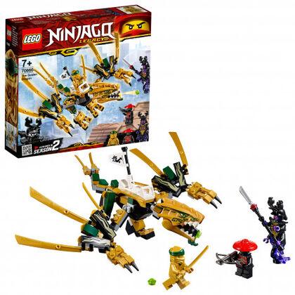 LEGO Ninjago Dragón dorado (70666)