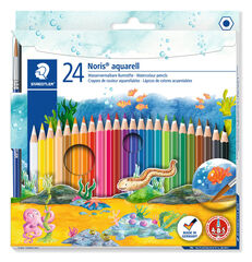 Estoig de llapis de colors Staedtler Noris Club Aquarell 24 colors