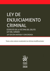 Ley de Enjuiciamiento Criminal Estatuto