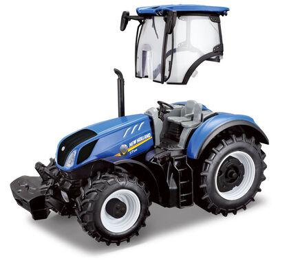 Vehículo en miniatura Burago Tractor New Holland Réplica 01:32