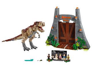 LEGO Jurassic World  Parque Jurásico: Caos del T. rex (75936)